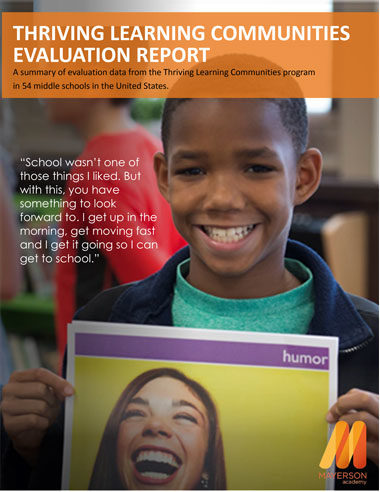 Thriving Learning Communities Evaluation Report