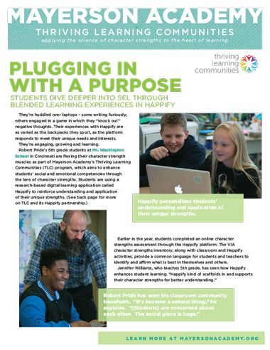 Plugging In With A Purpose TLC CS